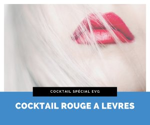Le cocktail rouge à lèvres
