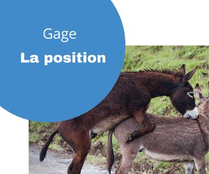 Gage la position humiliante